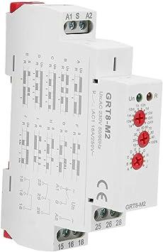 5 h3y-2 Dc 12v Temporizador de retardo de tiempo de enlace de 0-30 Minutos Con Base
