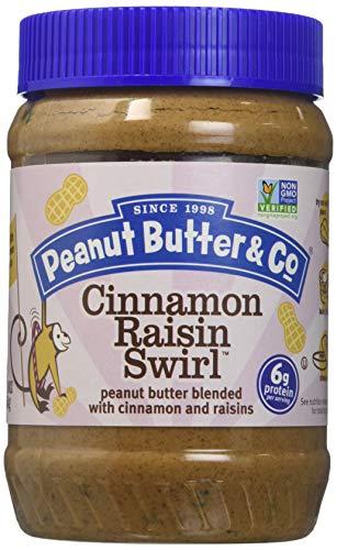 Swirls Raisin - All Natural Peanut Butter & Co. Cinnamon Raisin Swirl