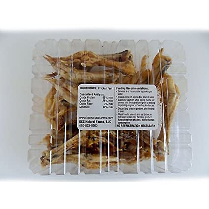 Amazon Kcc Baked Chicken Feet Pet Treat 8oz Pet Supplies