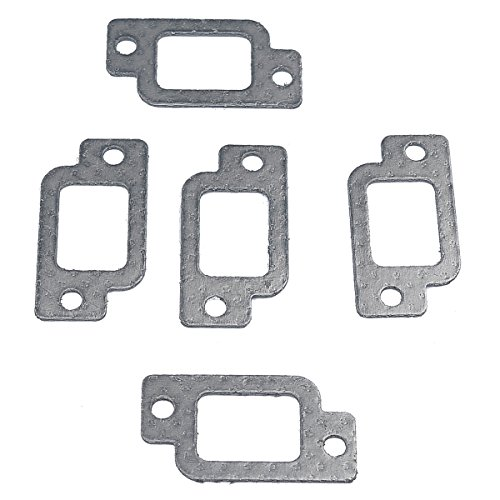 HIPA (Pack of 5) Muffler Exhaust Gasket fits STIHL 021 023 025 MS210 MS230 MS250 Chainsaw