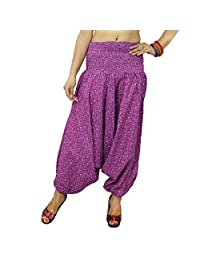 Belly Dance Pants Elastic Trousers Beach Harem Pajamas Baggy Pants Gift For Her