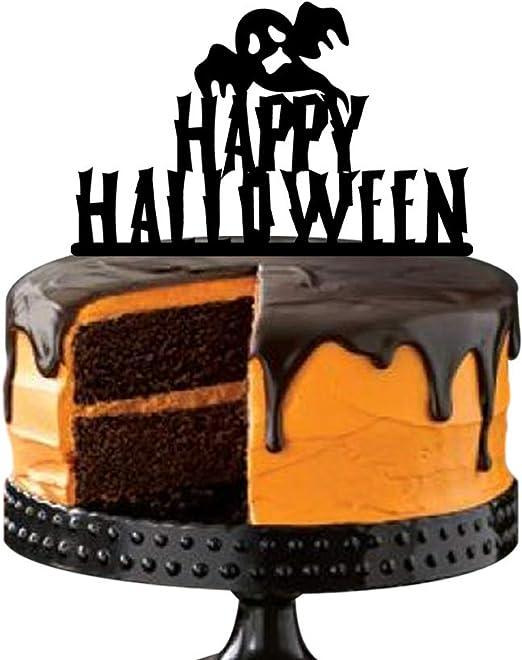 Terrific Amazon Com Scary Halloween Party Cake Decoration Peek A Boo Personalised Birthday Cards Epsylily Jamesorg