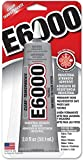 1 Pack E6000 Craft Industrial Strength Adhesive, Clear, 2 oz