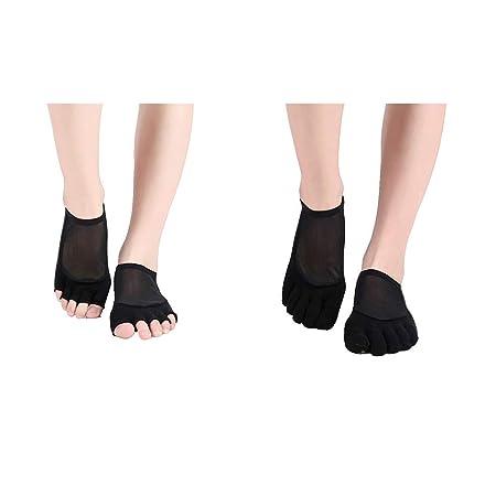 XIAXIACP Calcetines de Yoga, Calcetines Deportivos ...