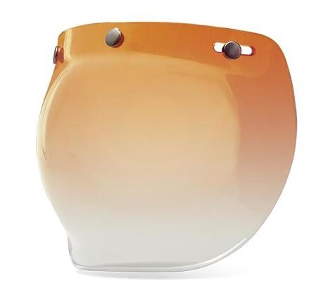 eb1fd3d5 Amazon.com: Bell 3-Snap Bubble Shield, Amber Gradient: Automotive