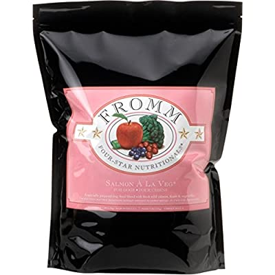 Fromm Four-Star Salmon A La Veg Dog Food, 15 Lb