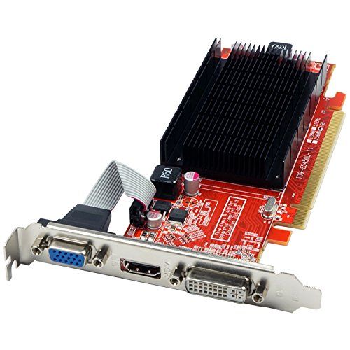 VisionTek Radeon 5450 1GB DDR3 (DVI-I, HDMI, VGA) Graphics Card - 900358
