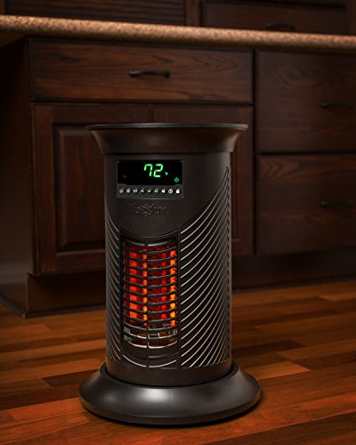 space heater reviews lifesmart products ls19iqhm infrared heater 1500 watt 12394