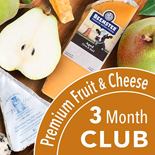 Golden State Fruit Monthly Fruit and Cheese Club (Premium Version) - 3 Month Club ()