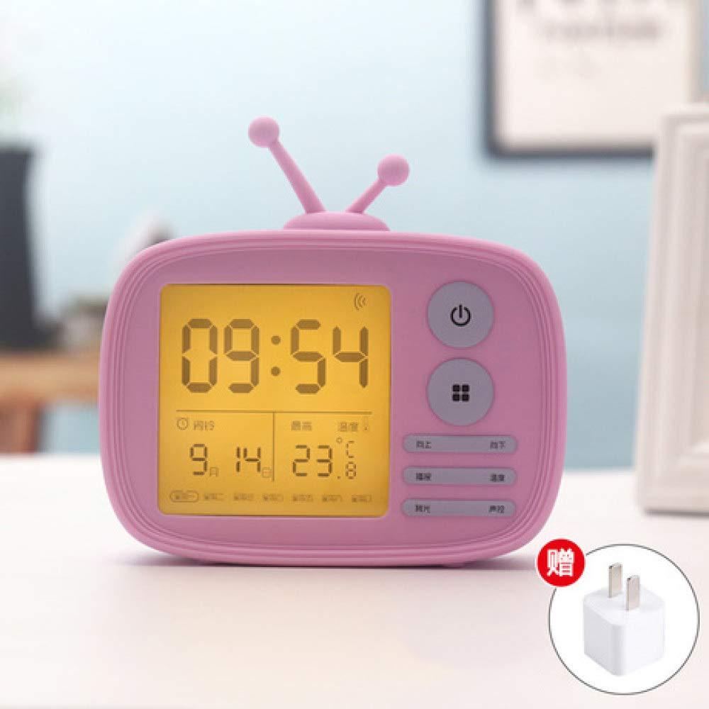 Yyzhx Reloj despertador Inteligente, silencioso, luminoso ...