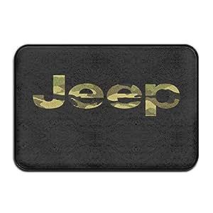 Camouflage Jeep Doormat Rug Door Mat