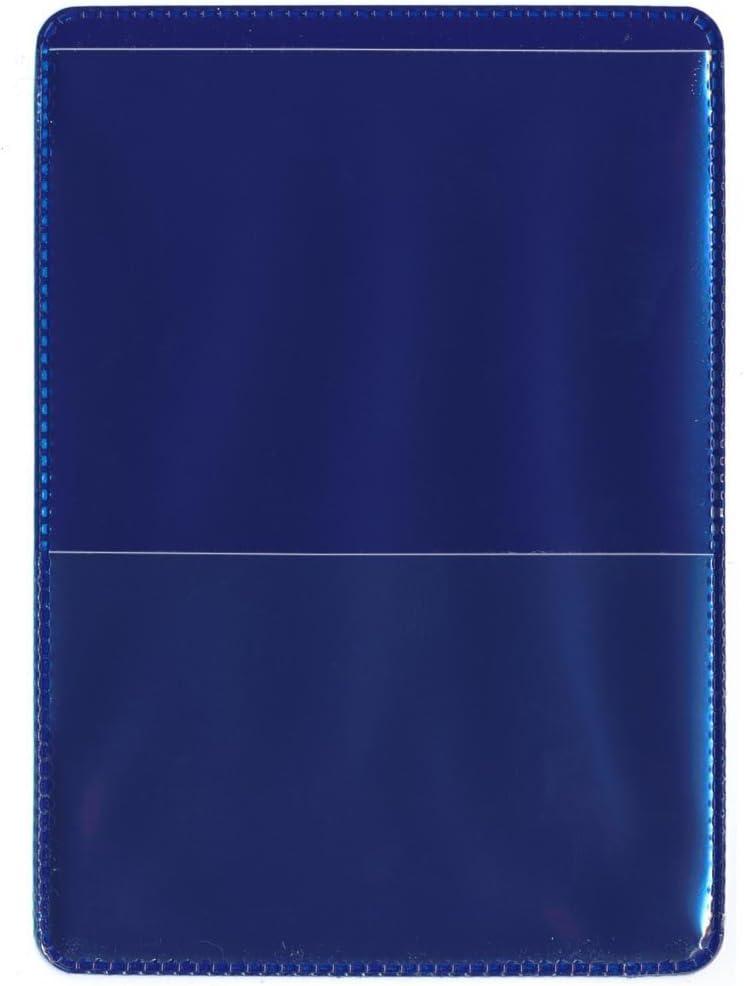 25 Pack StoreSMART RFS20-G25 Green-Back Auto Insurance /& ID Card Holders