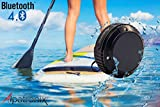 Kayak Waterproof Speaker Rugged Wireless Bluetooth w MIC Kayak and Paddle-board