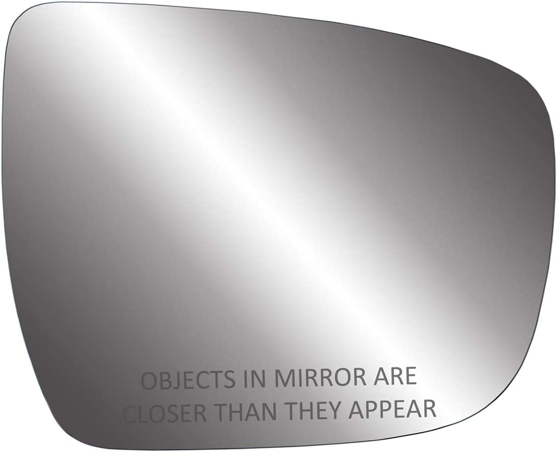 Fit System Passenger Side Mirror Glass, Nissan Rogue (Does not Apply to Rouge Select Models)
