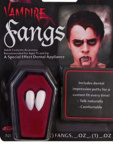 Fun World Fangs Dentures Vampire Costume Accessory