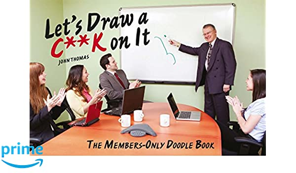 lets draw a ck on it the members only doodle book