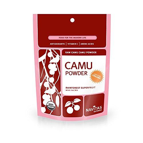 Navitas Naturals Organic Camu Camu Powder, 3-Ounce Pouches