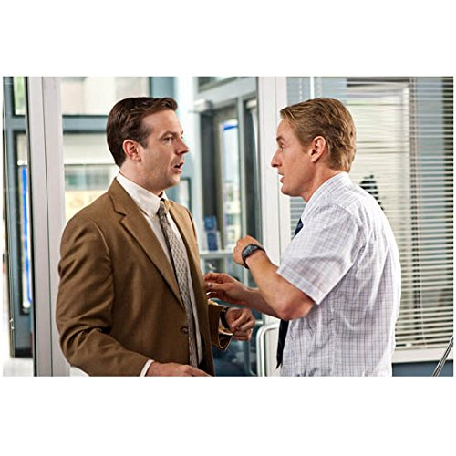 Hall Pass Owen Wilson as Rick and Jason Sudeikis as Fred talking in an office 8 x 10 Inch Photo