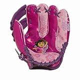 "Franklin Sports Nickelodeon Dora The Explorer 9"" Air Tech Glove and Ball Set #11741"