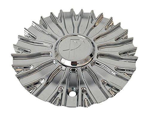 Phino Wheels PW16 CSPW16-1P SJ129-01 Chrome Wheel Center Cap