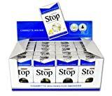 New and Improved Super Stop Disposable Cigarette Filters - 20 Packs (Blue)