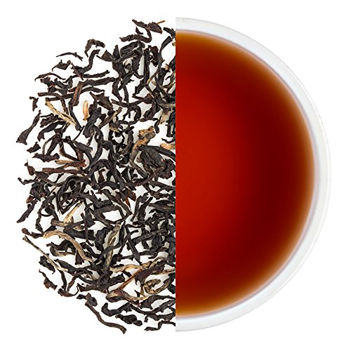 Teabox Chota Tingrai Spring Assam Black Tea 3.5oz/100g (40 Cups) from India | Eucalyptus, Leather, and tart fruit aroma | Delivered Garden Fresh Direct from source India Sweet Fruit