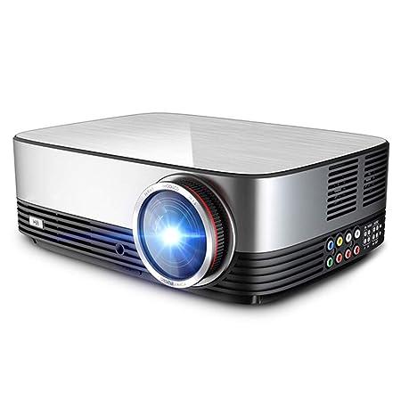 WWK Proyector HD 1080P, proyector inalámbrico Inteligente Altavoz ...