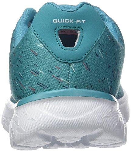 Skechers Go Run 400-Instant, Baskets Basses Femme Turquoise