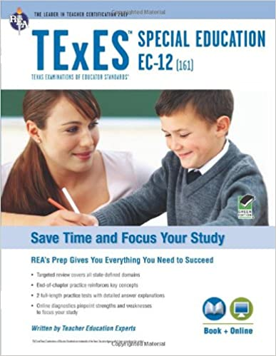 TExES Special Education EC-12 (161) Book + Online (TExES Teacher ...