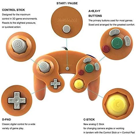 Wired Controller Gamepad Wordt Gebruikt for Joystick Home Licht Portable Wired Gamepad (Style: 3) SHIYUE