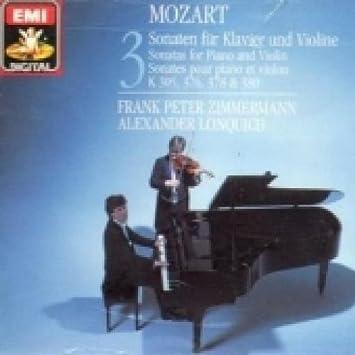 Wolfgang Amadeus Mozart, Frank Peter Zimmermann, Alexander Lonquich - Mozart: Violin Sonatas - Amazon.com Music