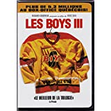 Les Boys III (Only French Version With English Subtitles) 2001 (Edition 2 DVD) Régie au Québec