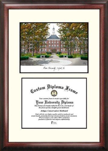 - Campus Images OH982V Miami University Ohio Scholar Diploma Frame, 8.5