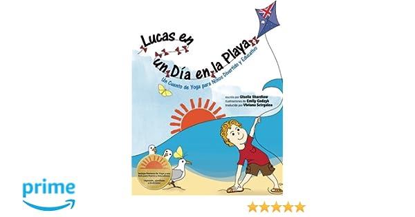 Lucas en un Dia en la Playa: Un Cuento de Yoga para Niños ...