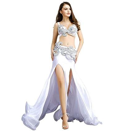 ROYAL SMEELA Danza del Vientre Vestido de Mujer Traje de Falda de ...