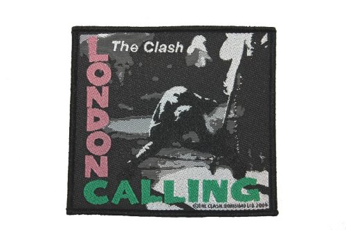 The Clash London Calling British Punk Rock Music Band Woven Patch Applique ()