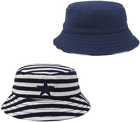Gorros de dos caras para niños, primavera y otoño, sombreros para ...