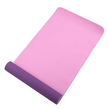 HEXIAOPENG - Esterilla de Yoga de Dos Colores para ...