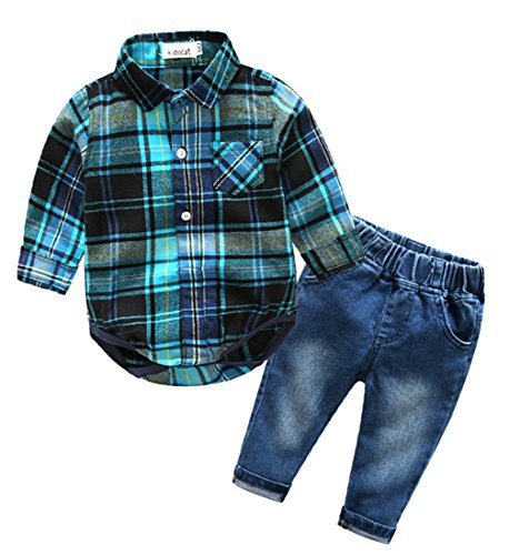 Cowboy Outfit For Baby - Beide Baby Boys Outfits Long Sleeve