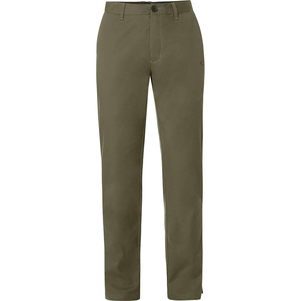 Oakley Men's Chino Icon Golf Pant, Dark Brush, 38 by Oakley