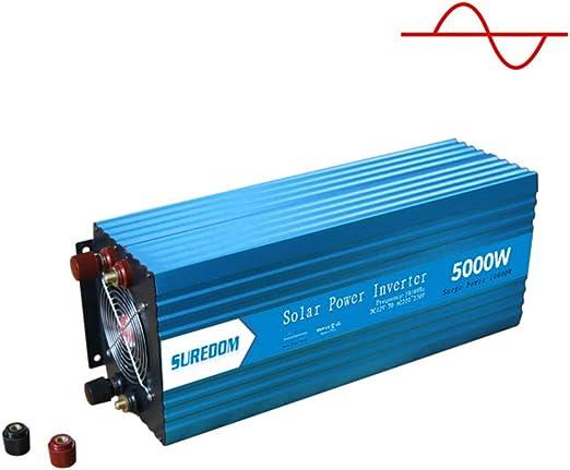 Solar Power Inverter 3000W Peak 12V DC To 110V AC Modified Wave Converter 8K HR
