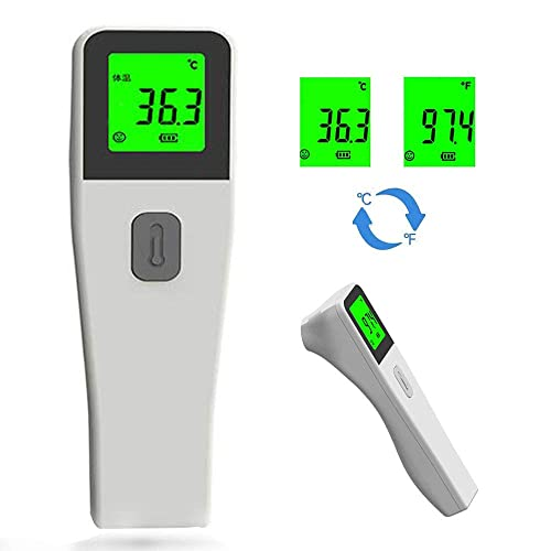 No Contact Infrared Forehead Body Temperature Thermometer,Fast delivery 5-10days, Switchable Measuring with Fever Alarm Function