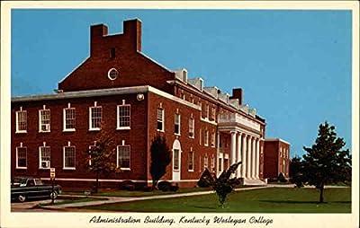 Kentucky Wesleyan College Owensboro Original Vintage Postcard
