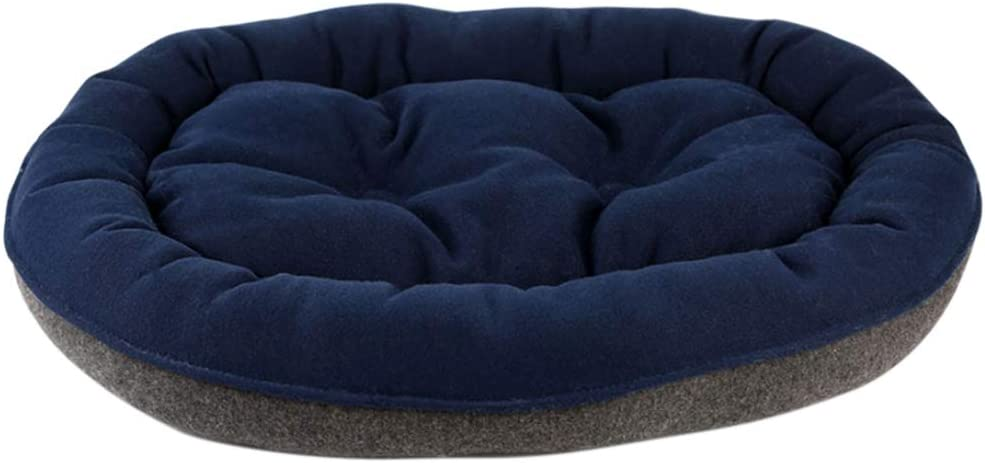 Jzenzero Pet Dog Soft Bed Oval House Double-Sided Kennel Thicken Lounger Cat Kitten Cushion Couch