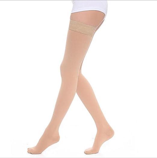 c0f2a922be906c DCCDU Women's Medical Compression Stockings 20-30mmHg 15-20mmhg,Thigh High ,Closed
