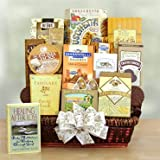 Caring Condolences Sympathy Basket by Top-Shelf Sweets n Gifts