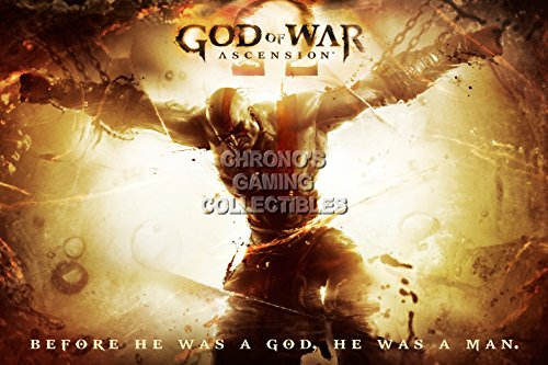 God of War CGC Huge Poster Glossy Finish Ascension Kratos Sony PS2 PS3 PS4 PSP Vita - GOW020 (24