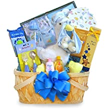 California Delicious Gift Basket, Special Stork Delivery Baby Boy