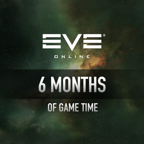 6 Months Subscription: EVE Online [Instant Access] by CCP Games