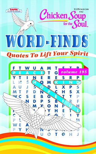 Chicken Soup for the Soul Word Find Puzzle Book-Word Search Volume 195